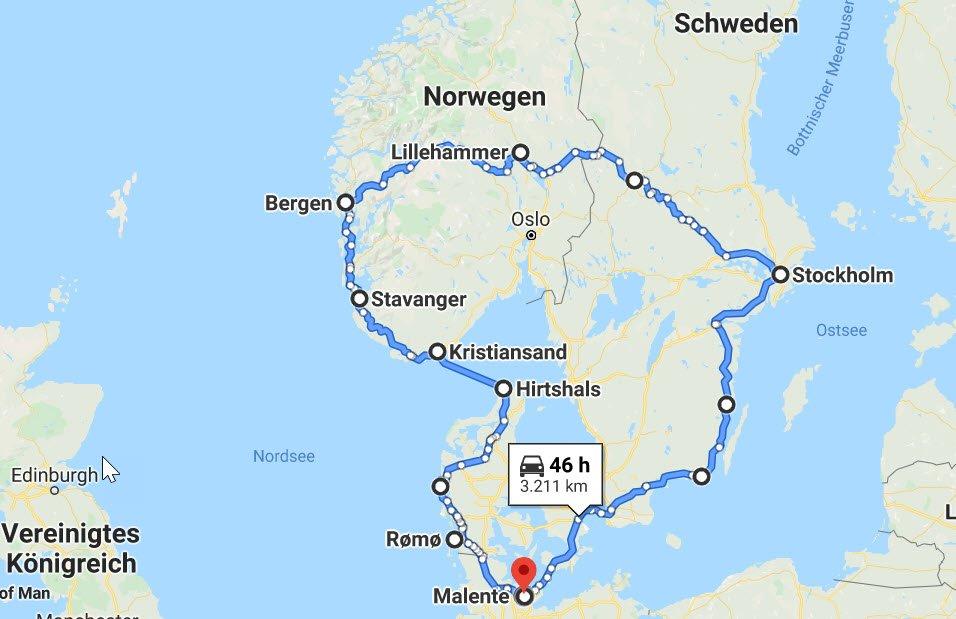 Skandinavien Rundfahrt 2020