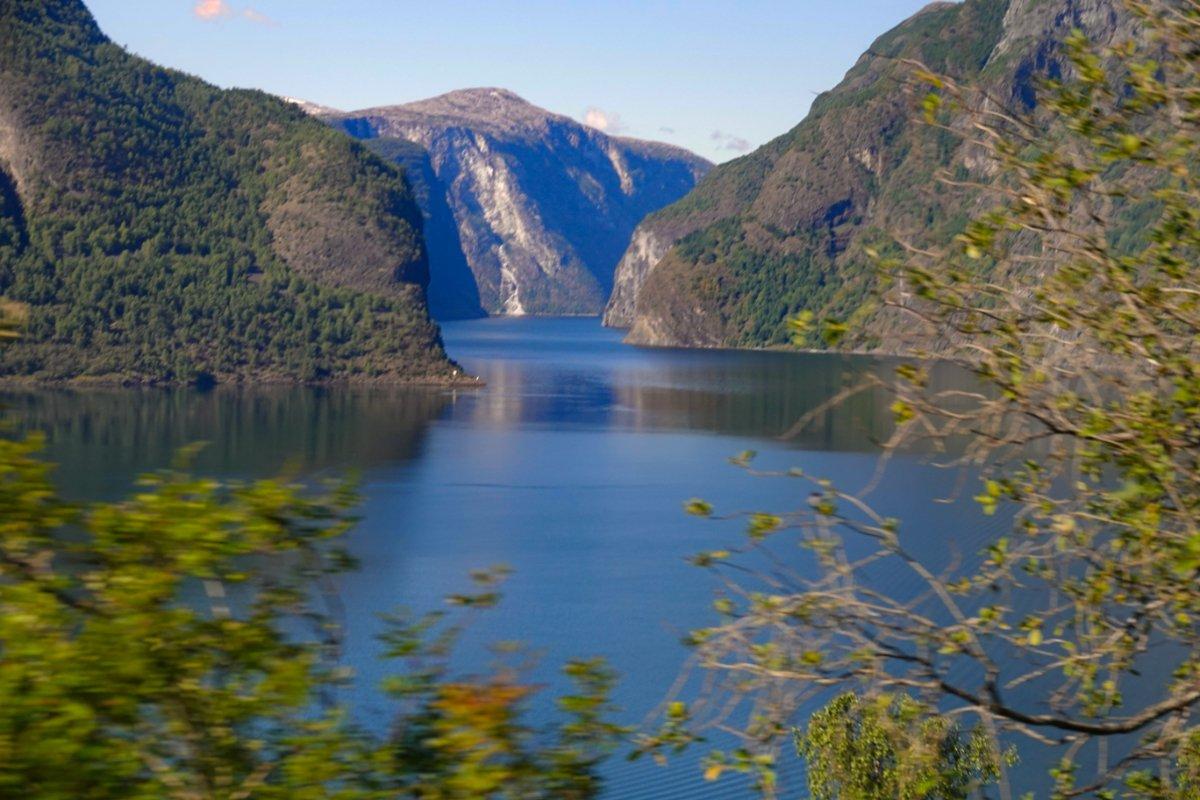 Aurlandsfjord in einer anderen Perspektive