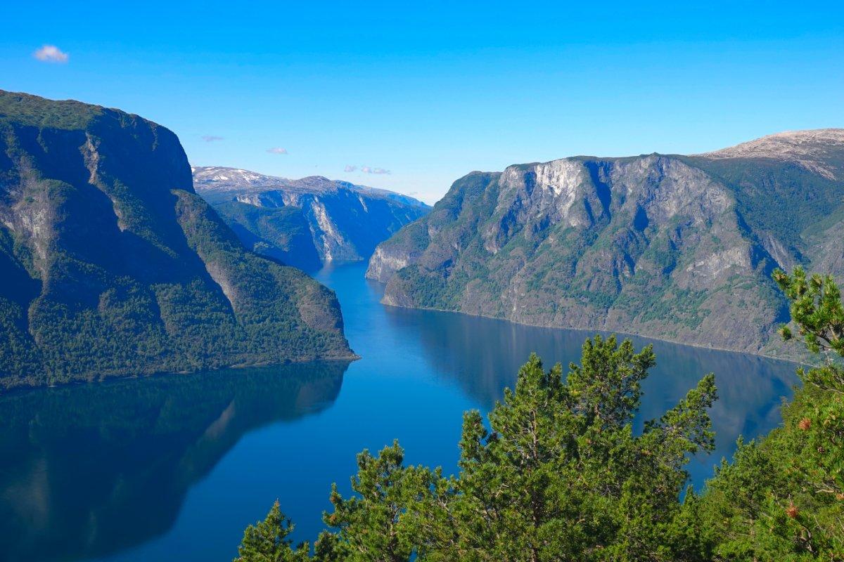Der Aurlandsfjord