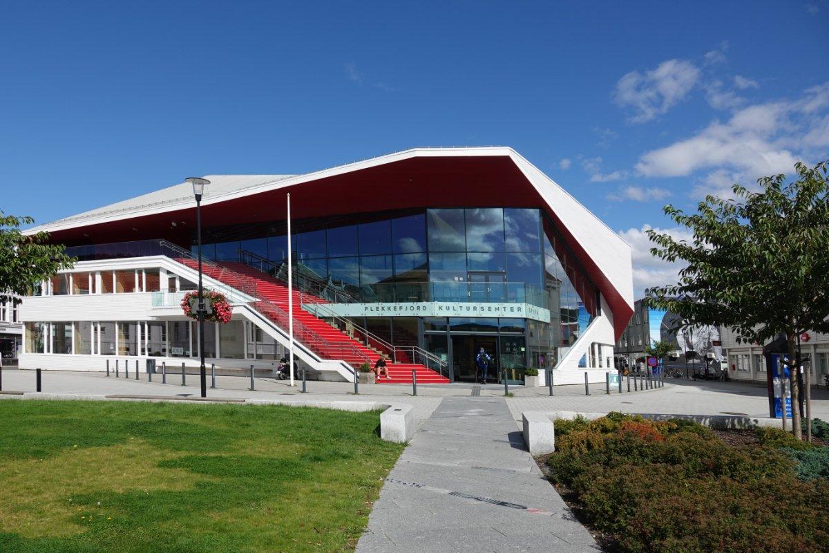 Das hyper-moderne Kulturzentrum