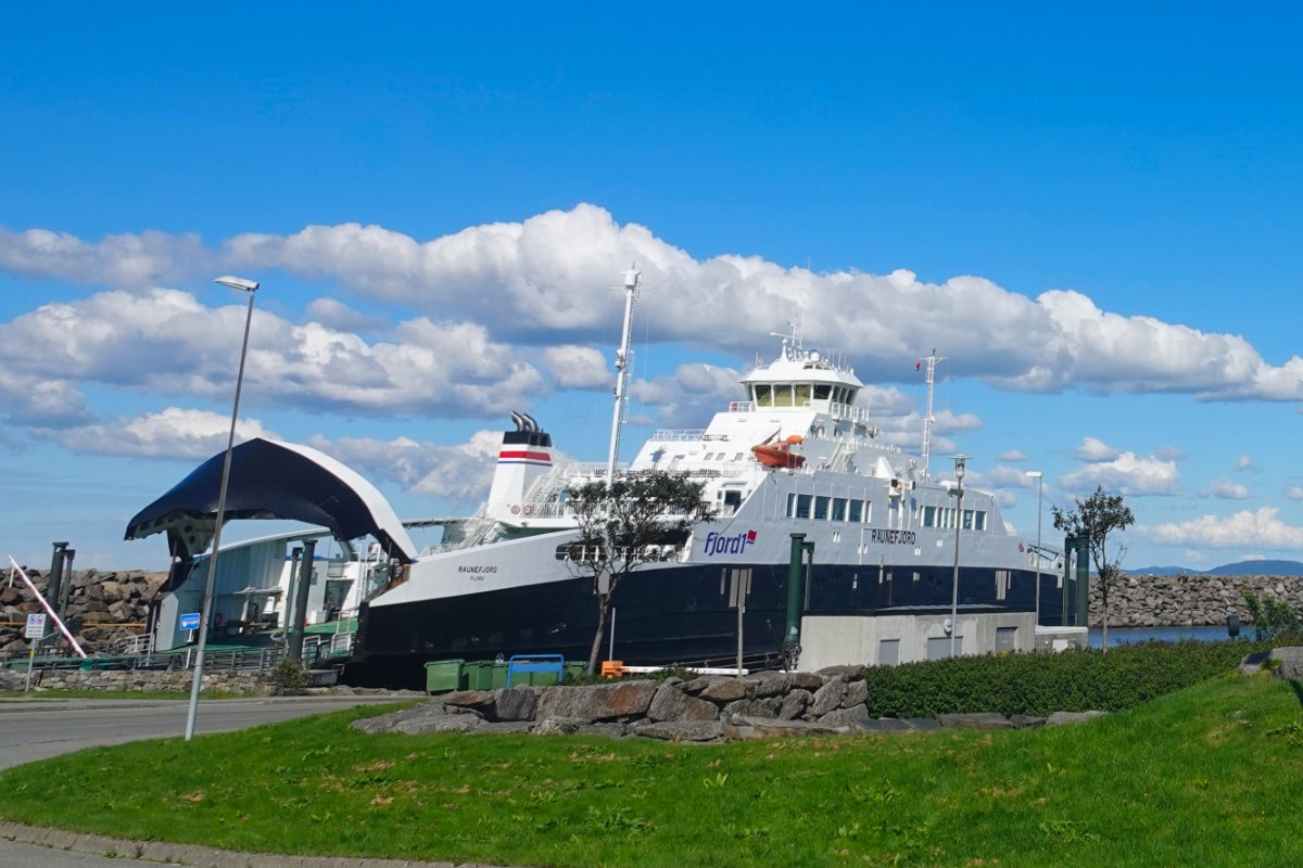 Fährhafen Nordre Rennesøy
