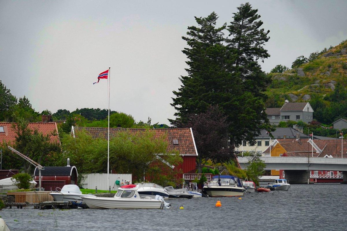 Fischerdorf auf dem Weg zum Südkap