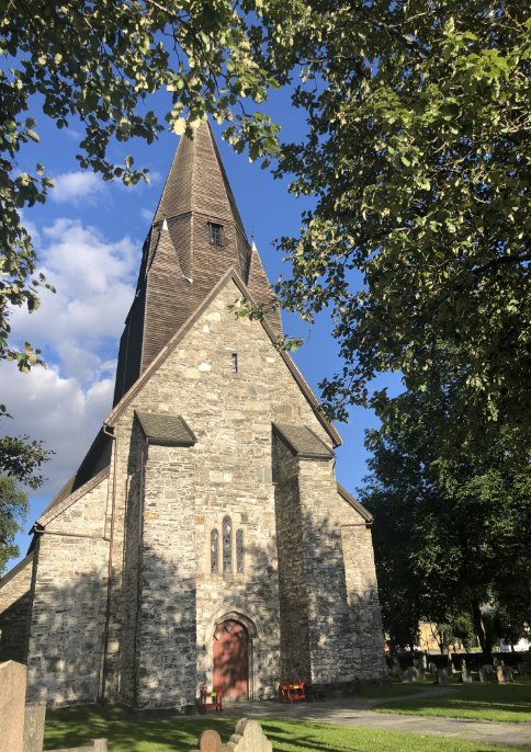 Kirche in Vossevangen