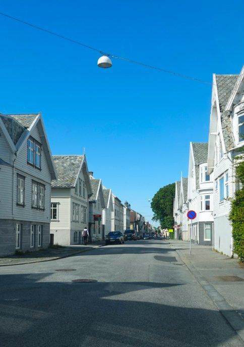 Straße in Haugesund