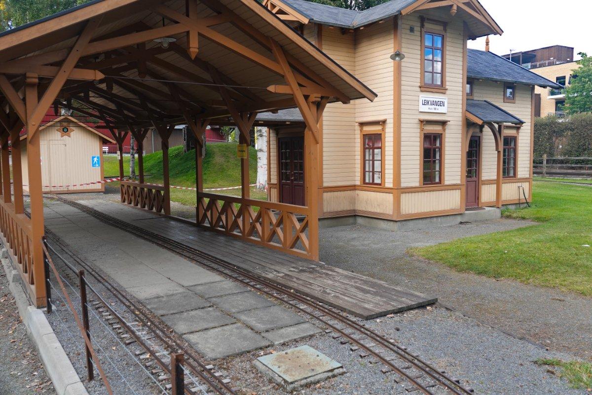 Teil des Eisenbahnmuseums