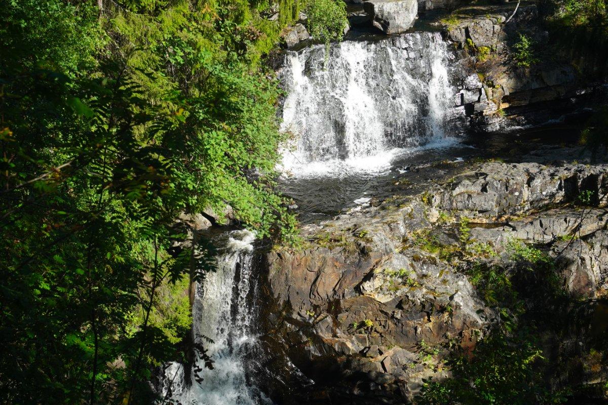 Wasserfall nahe der Sprungschanzen