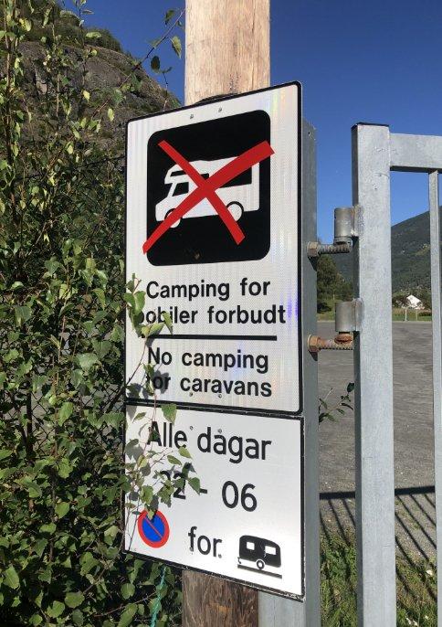 Camping Verboten