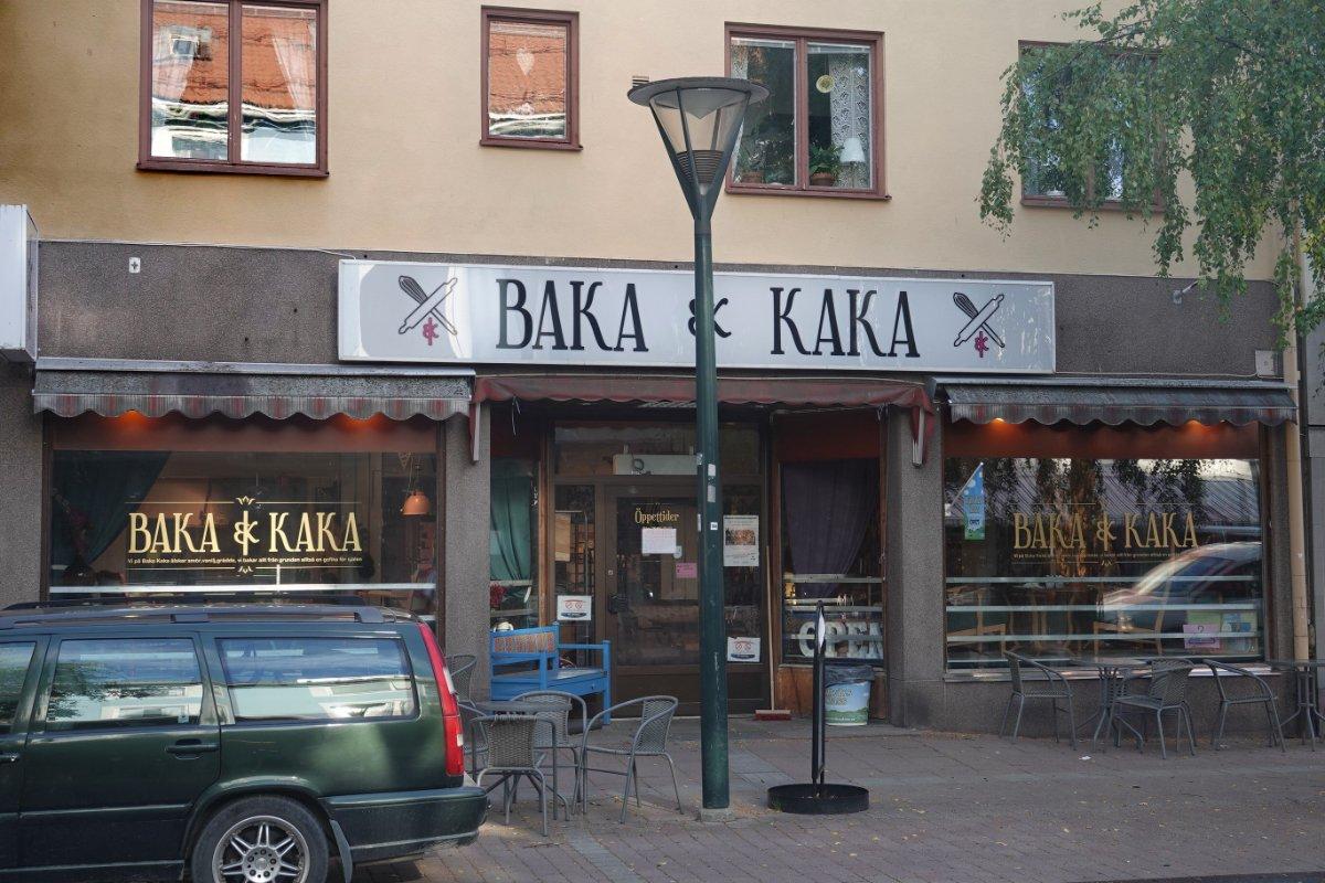 Bäckerei in Rättvik
