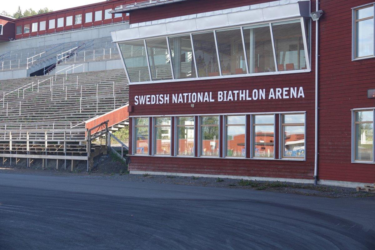 Das Biathlonstadion