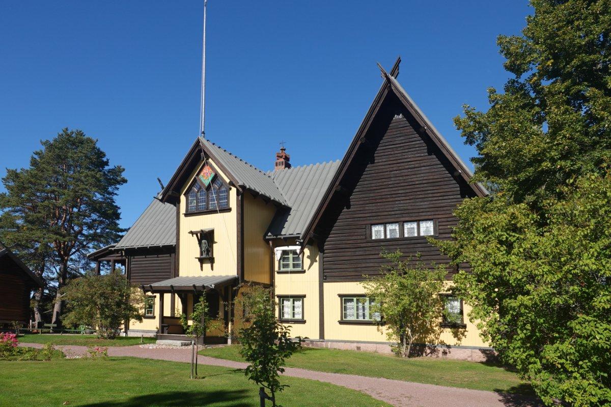 Das Wohnhaus der Zorns