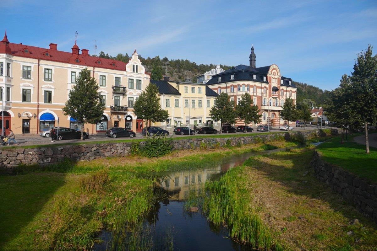 Ågatan und Söderköpingsån