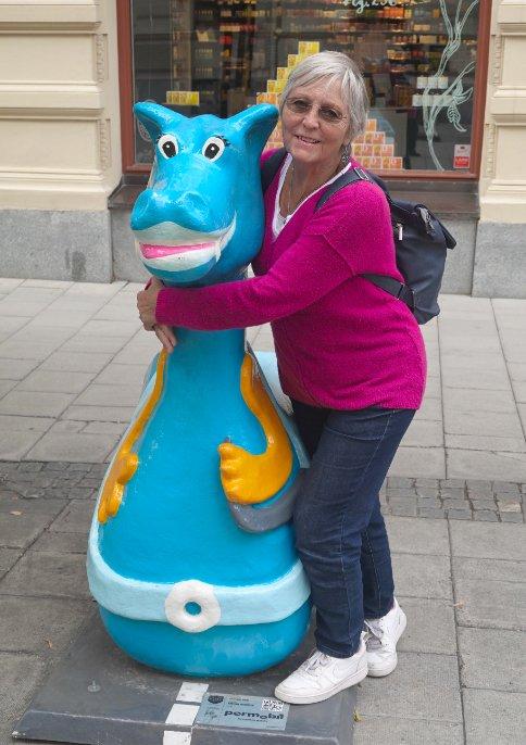 Anne mit Drachen