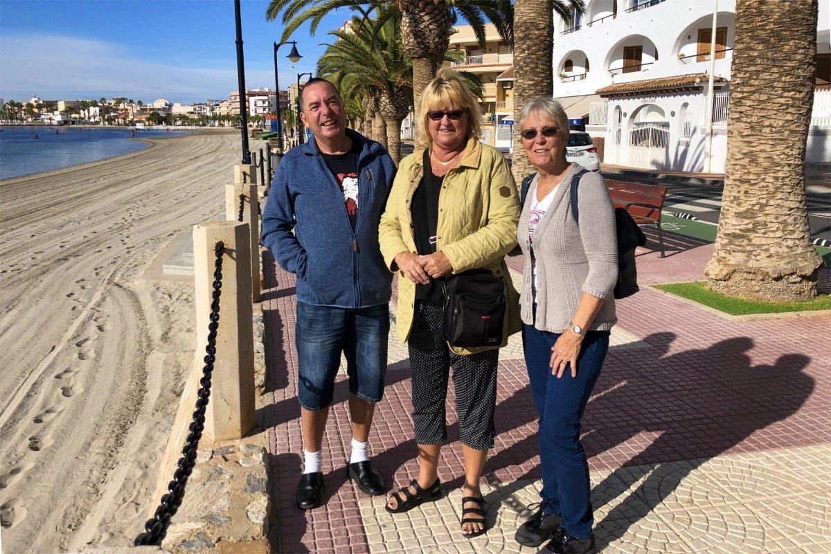 Mit Anne und Anders in San Pedro (Spanien)
