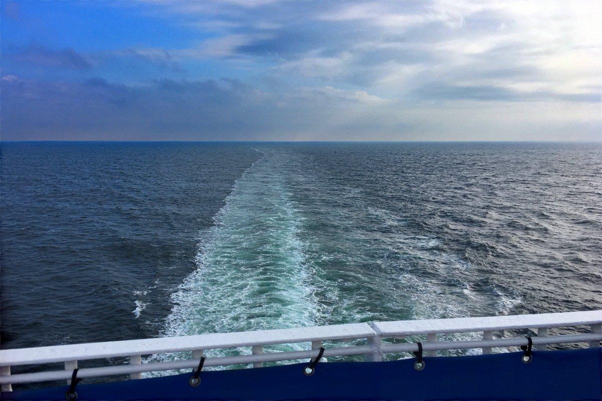 Ruhige Überfahrt von Halmstad nach Grenaa