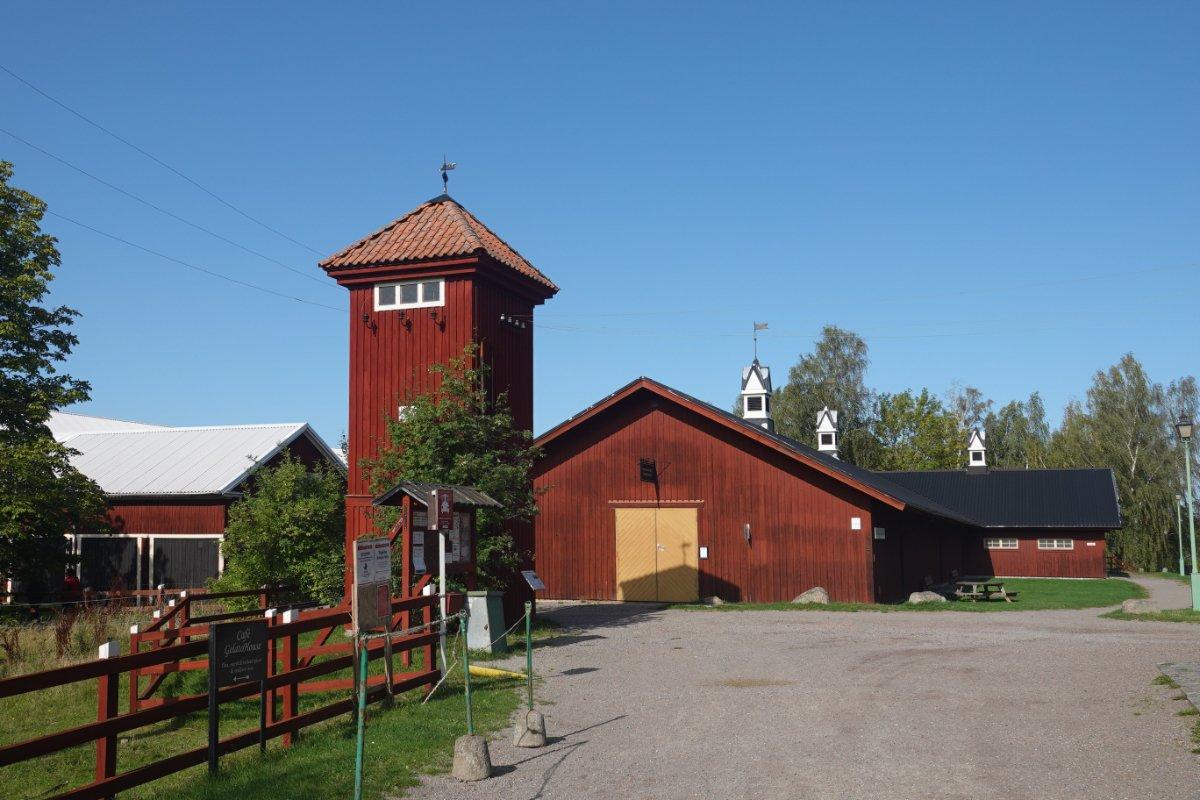 Bauernhof im Freilichtmuseum