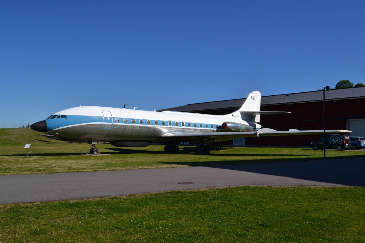"Passagierjet ""Caravelle"" im Luftwaffenmuseum"