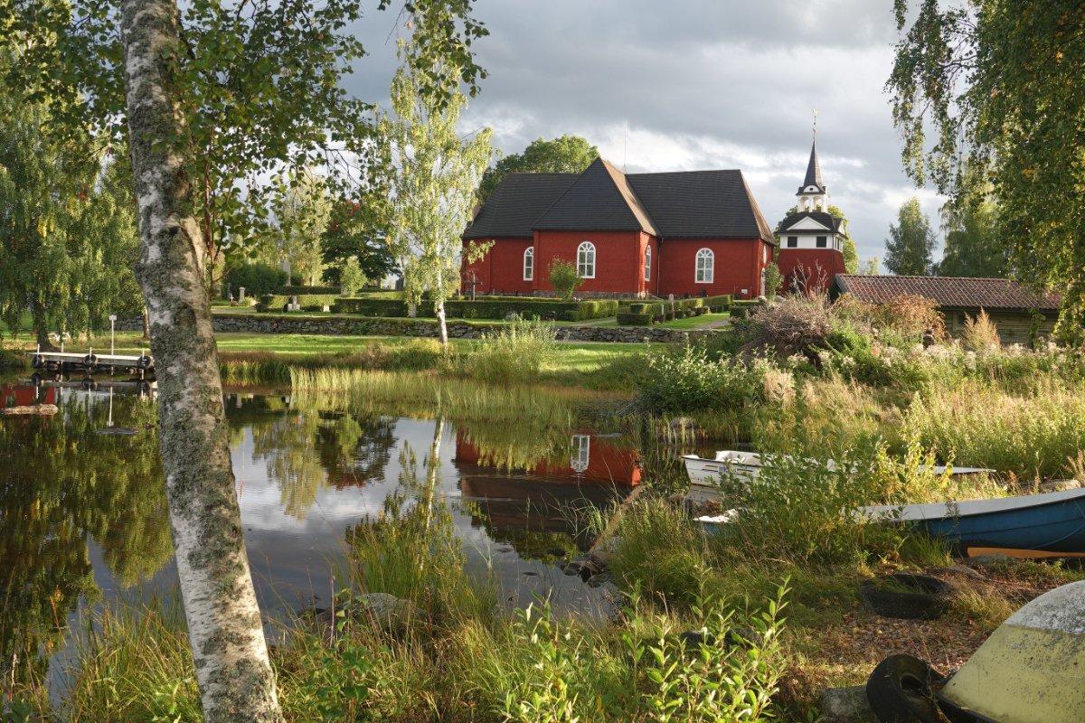 Kirche in Sundborn