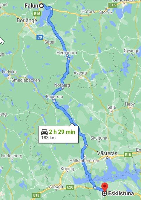 Falun -Eskilstuna