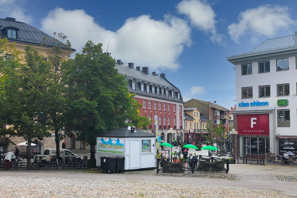 Falun Fußgängerzone