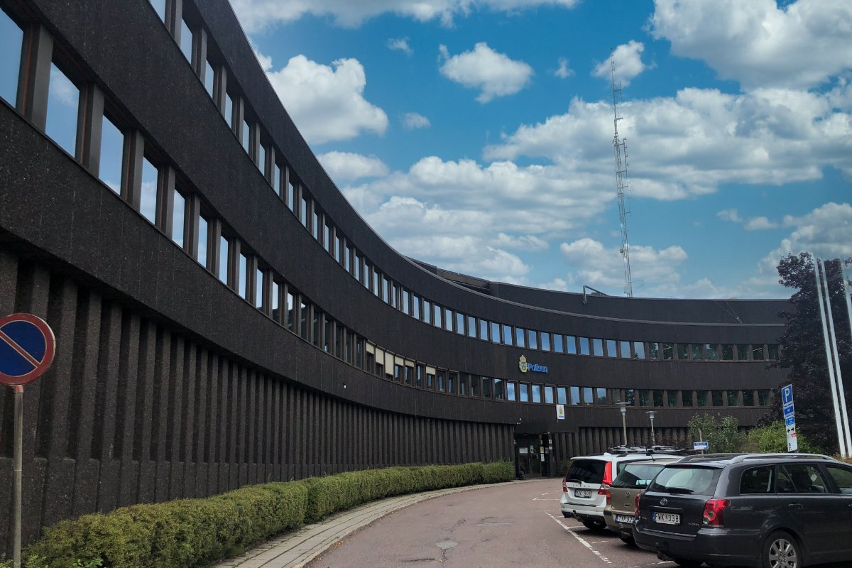 Polizeipräsidium Falun