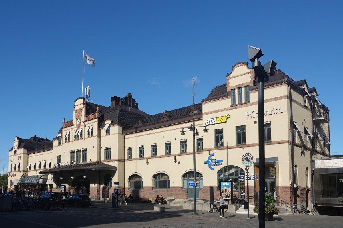 Gävle Hauptbahnhof