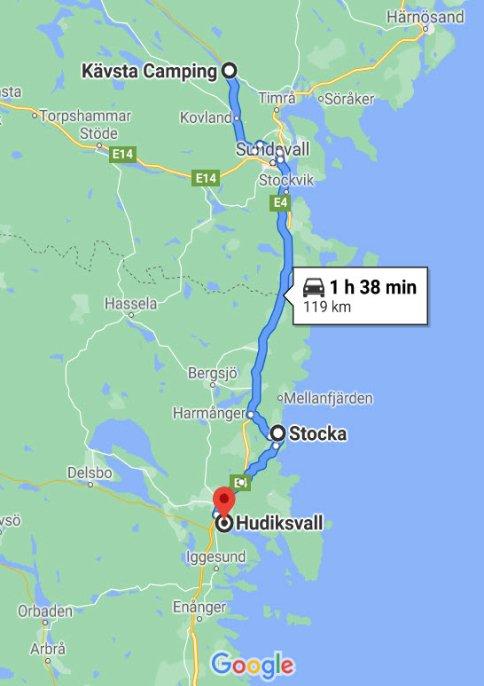 Kävsta Camping - Stocka - Hudiksvall