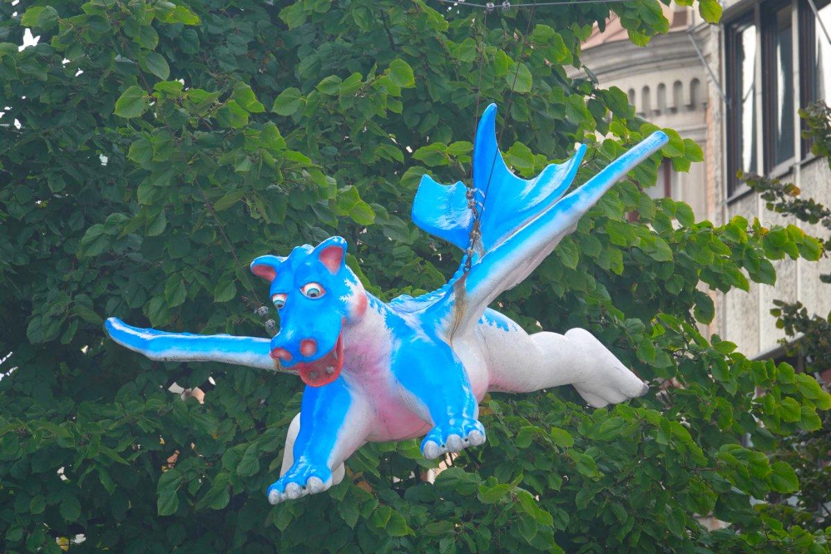 Fliegender Drachen