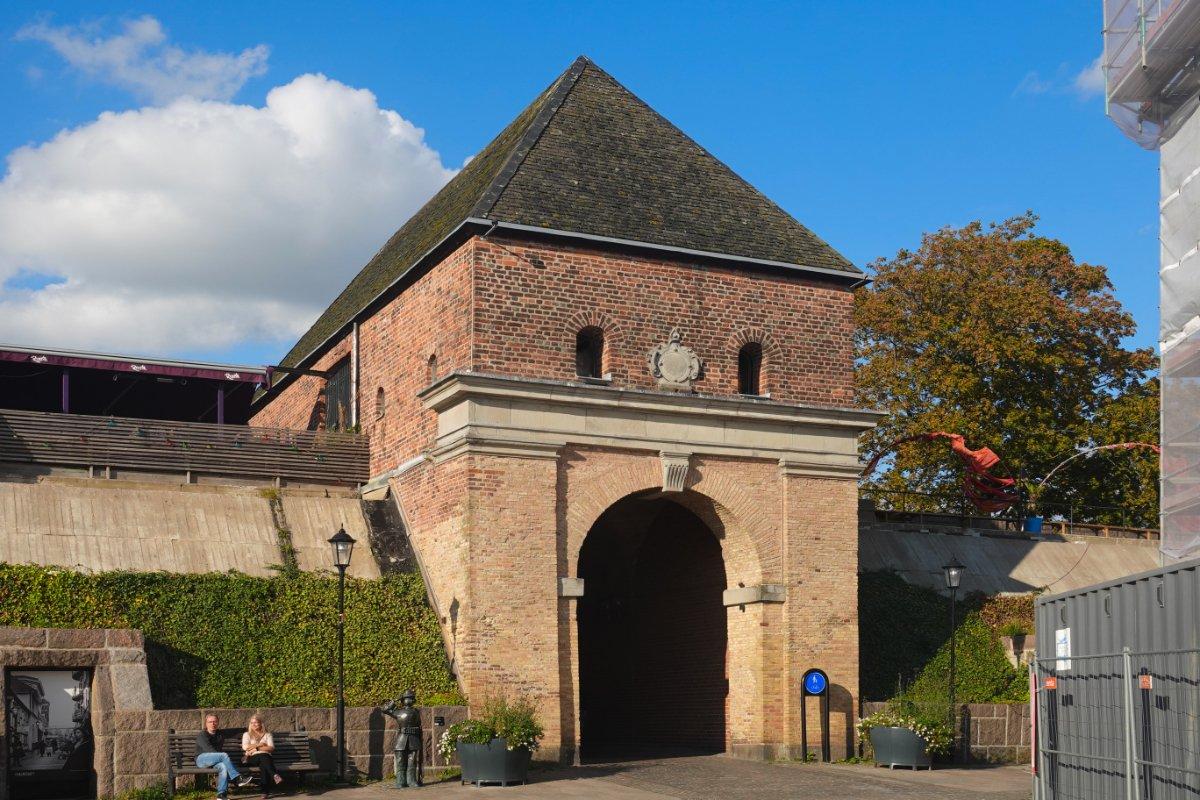 Teil der noch erhaltenen Stadtbefestigung