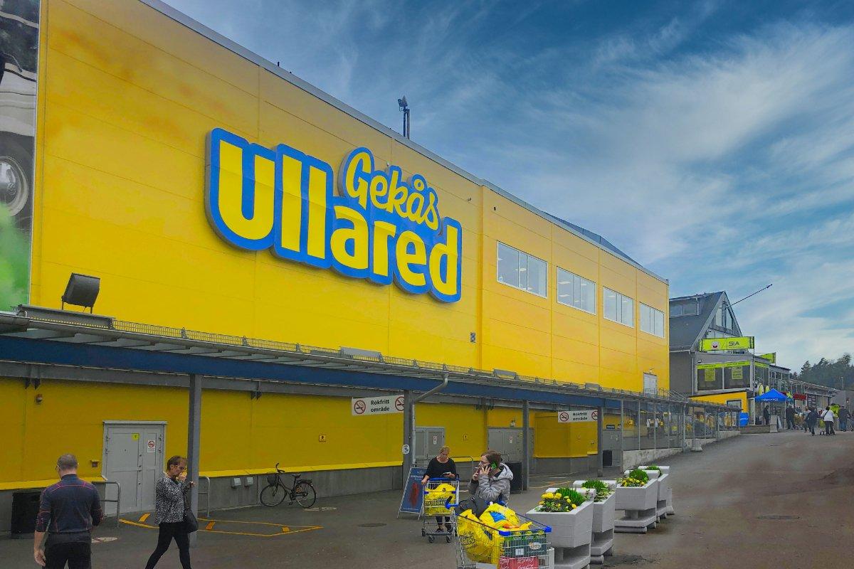 """Das riesige """"Gekås"""" Einkaufszentrum"""