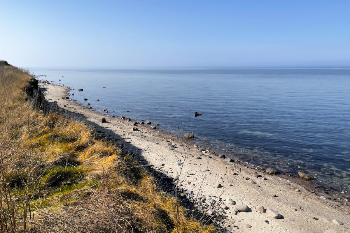 Steilküste bei Heiligenhafen