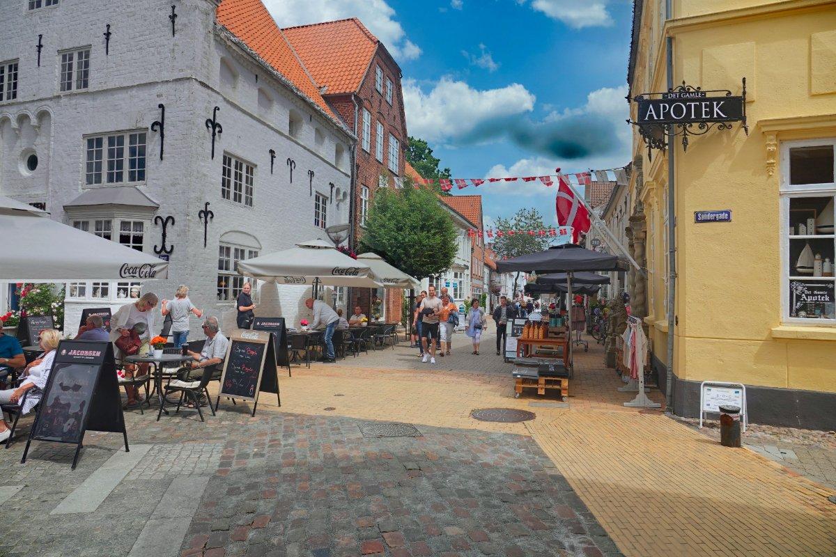 Estergade Fußgängerzone