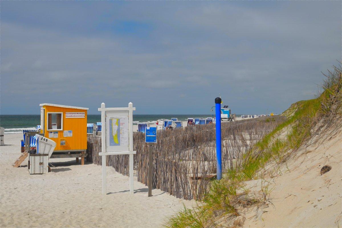 Zugang zum FKK-Strand