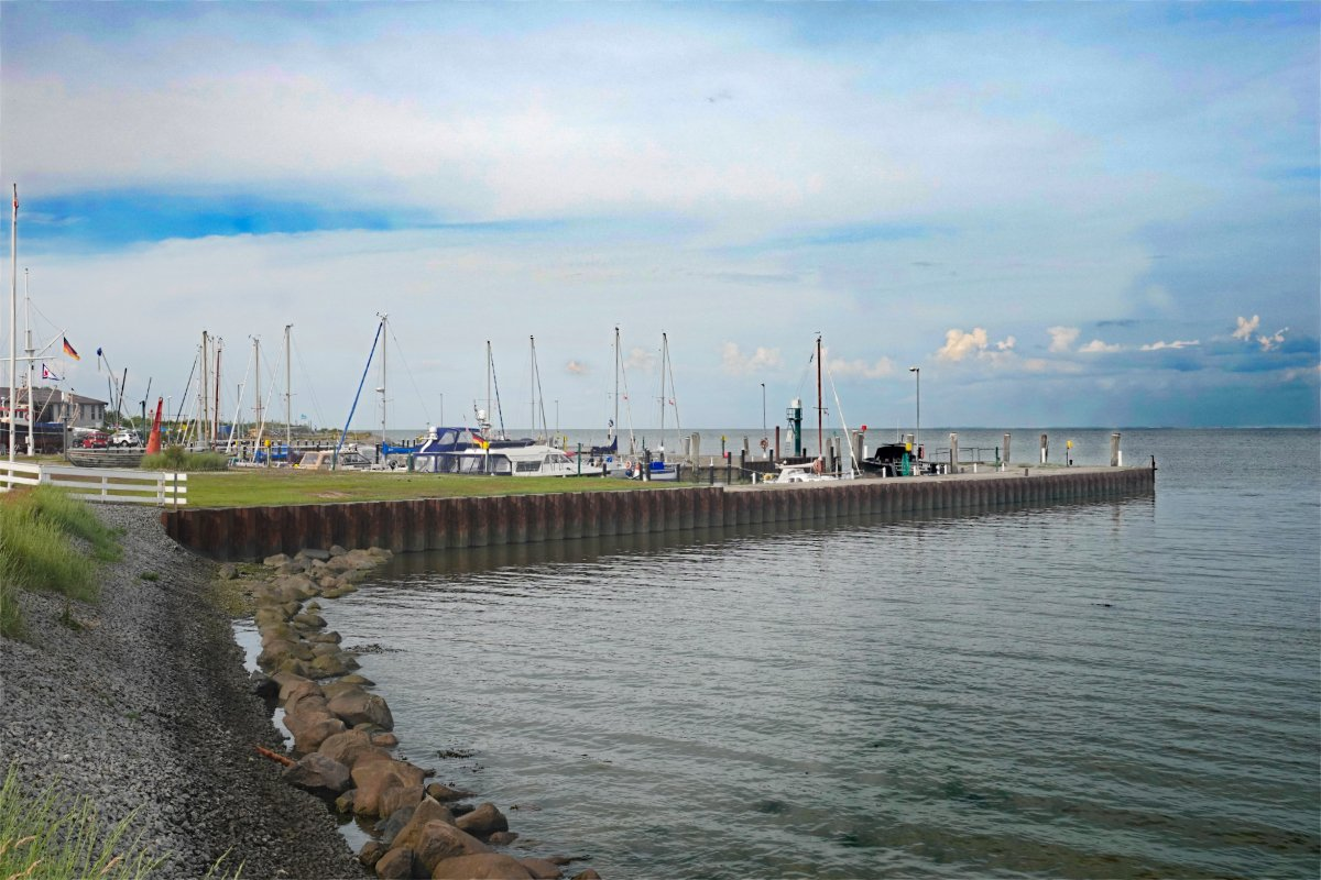 Der Hafen von Munkmarsch