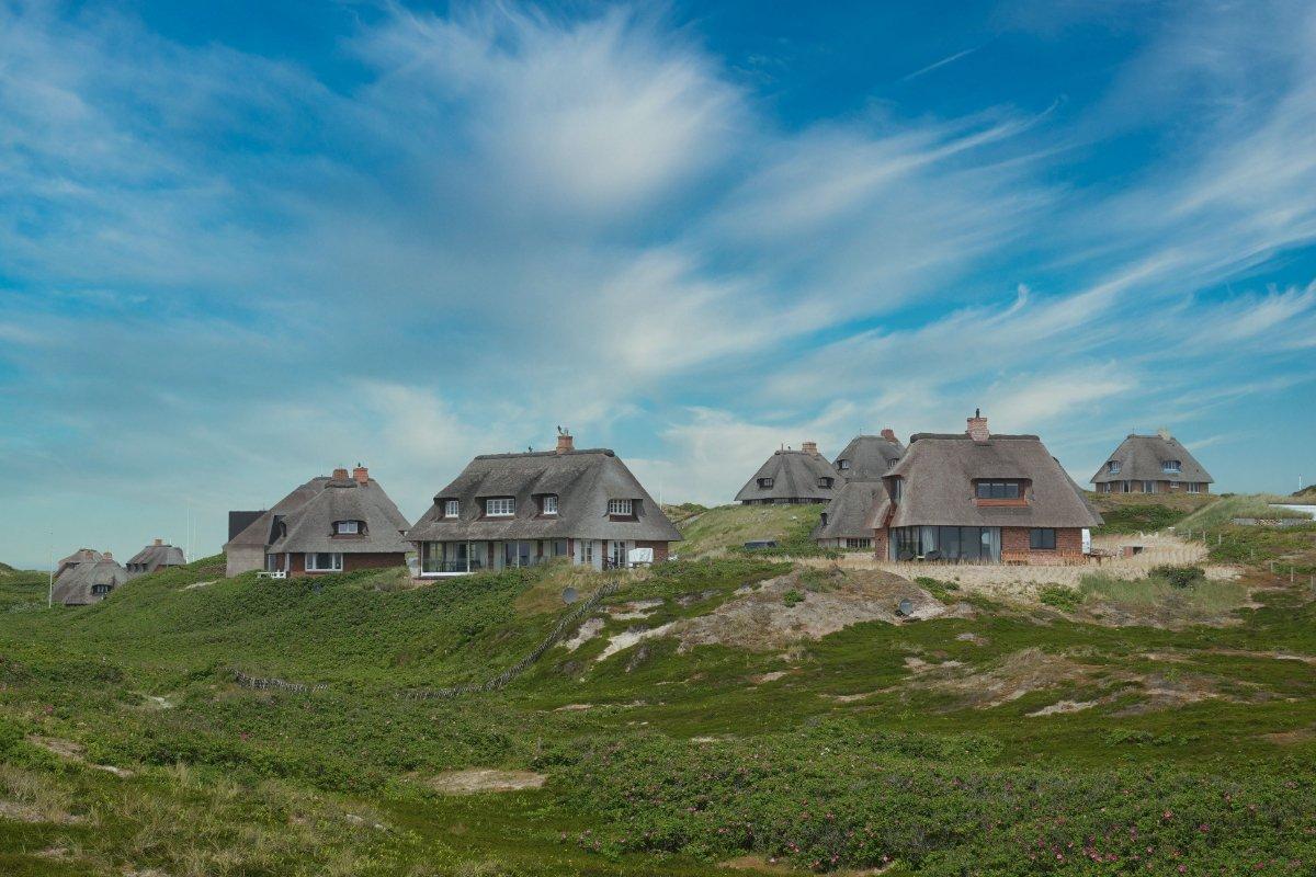Ferienhäuser in den Hörnumer Dünen