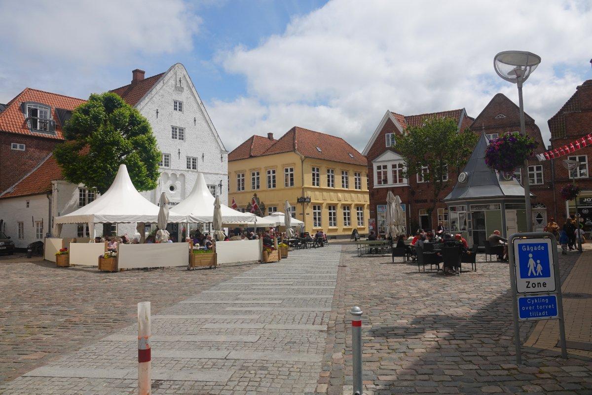 Tondern Marktplatz
