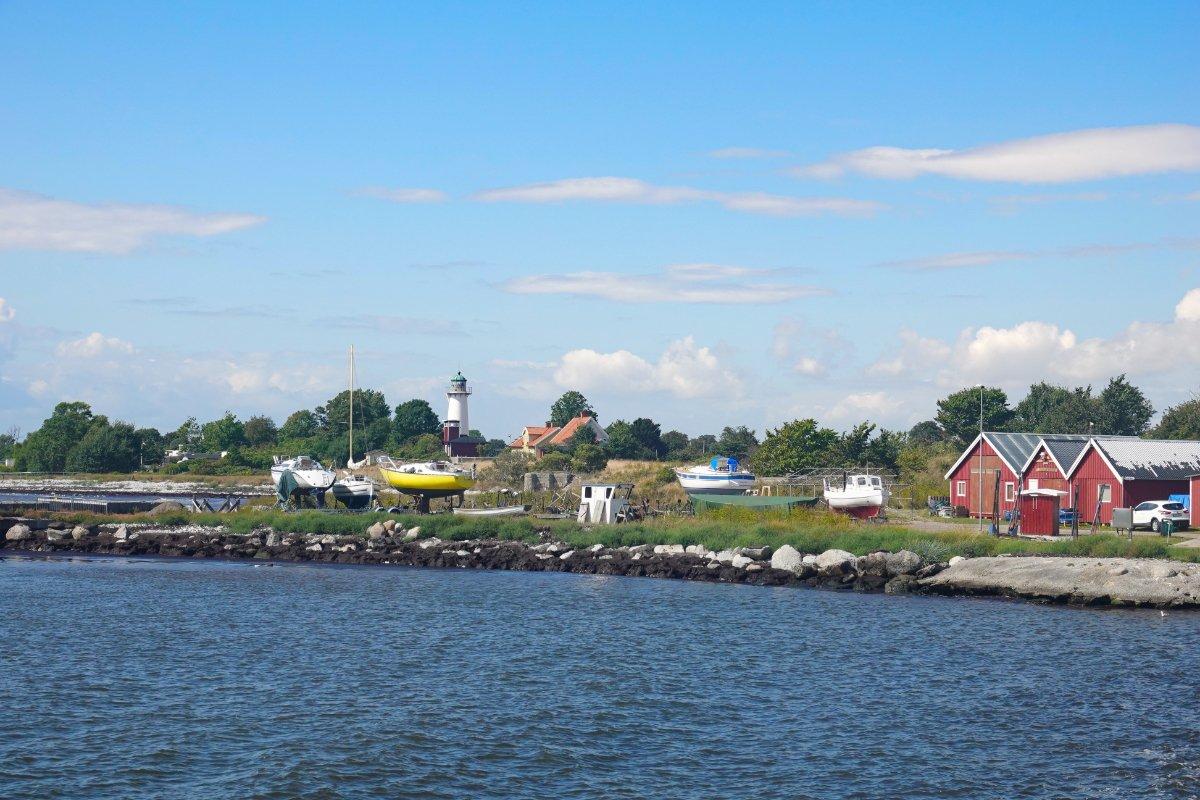 Hafeneinfahrt Smygehuk