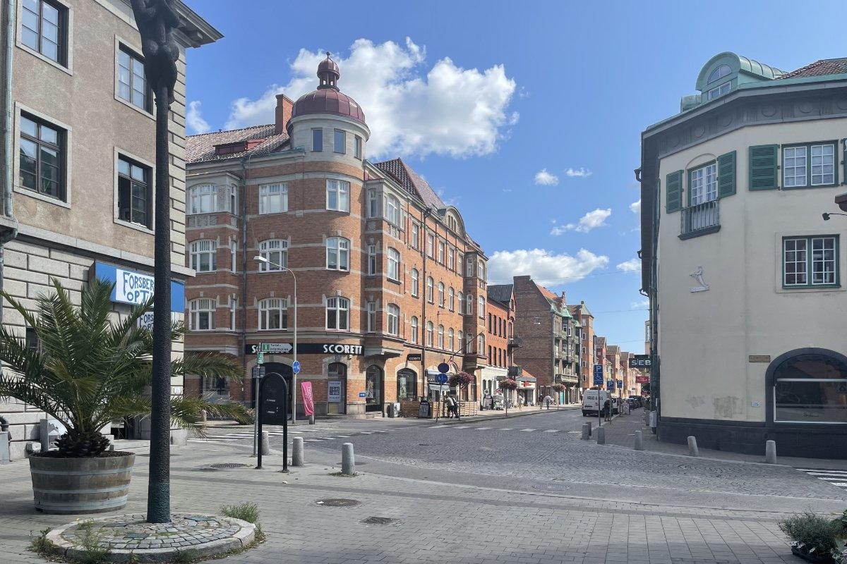 Innenstadt-Architektur