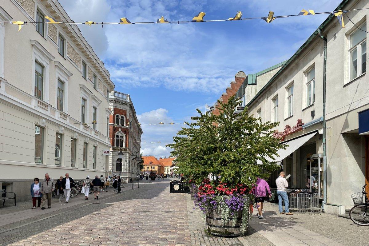 Ystad Fußgängerzone